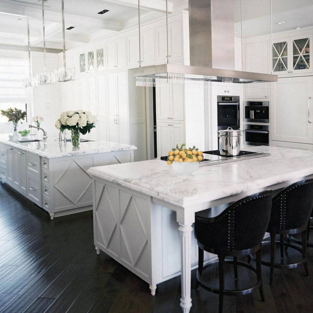 White Marble Countertops : The best colors for granite kitchen countertops advanced