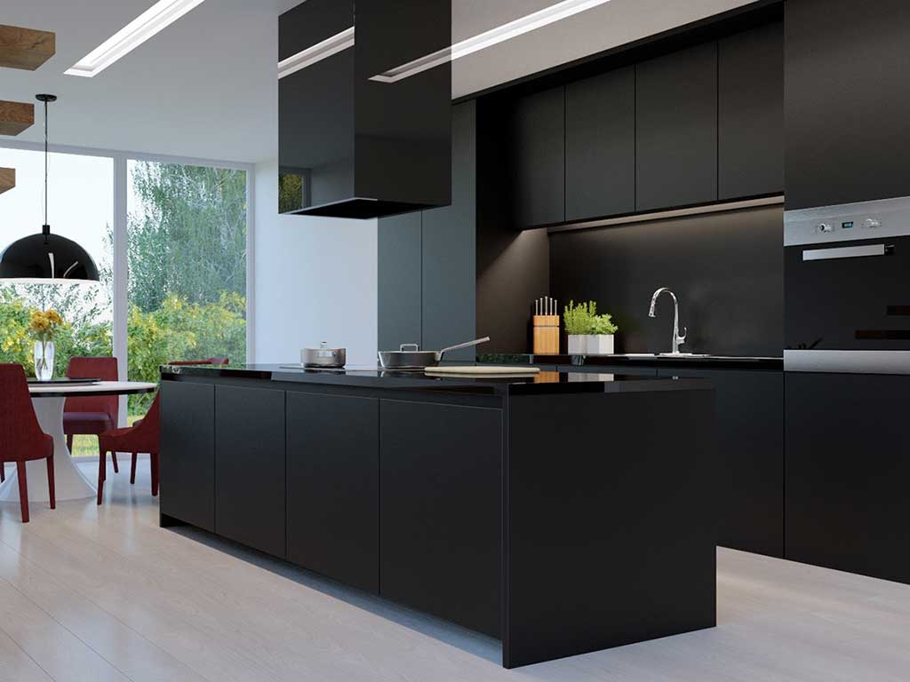 Black: Utilizing Black For Your Kitchen Is Making An Appearance, For The  Entire Kitchen, Not Just As A Feature. There Will Be Plenty Of Black  Benchtops, ...