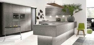ceramic concrete kitchen