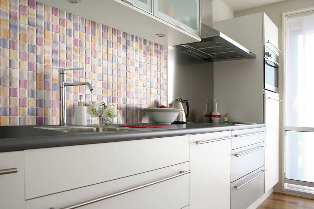 Decorative Tiles: Utilizing Decorative Tiles In Small Areas Of Your Kitchen  Can Create An Interest And Flair In An Otherwise Monotone Space.
