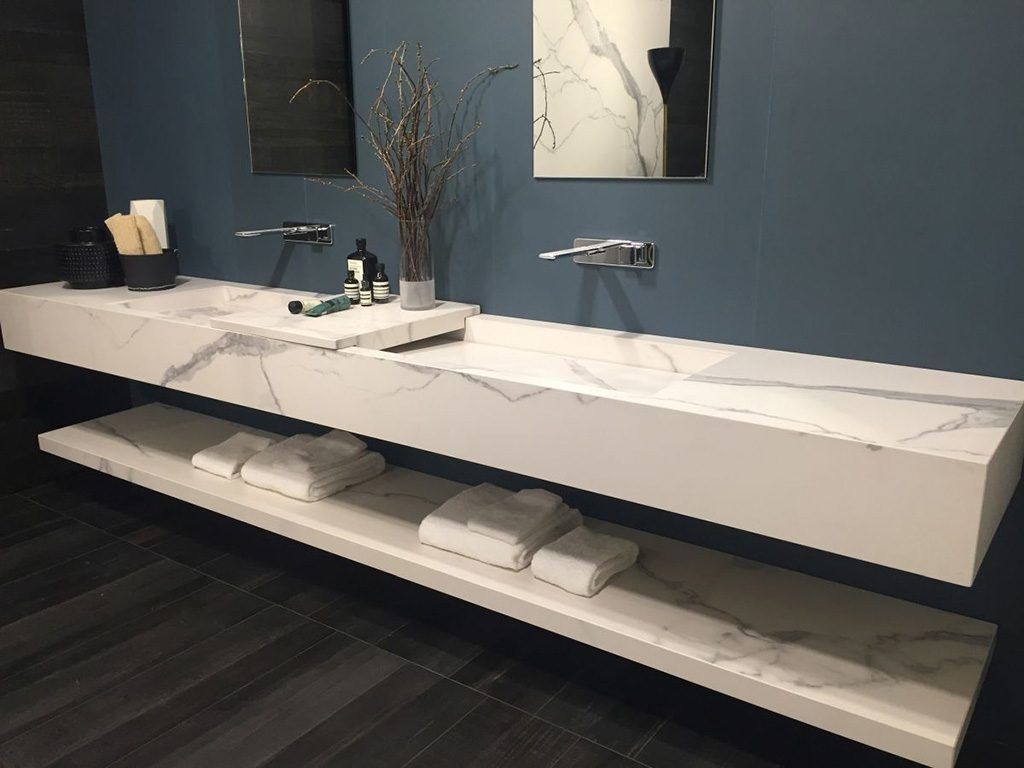 2018 trends bathroom countertops and cabinets trends for Bathroom sink trends