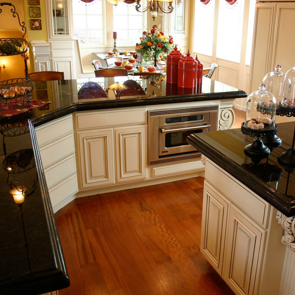 black granite kitchen optimized