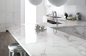 white marble kitchen countertop ideas