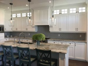 fantasy brown granite kitchen 1