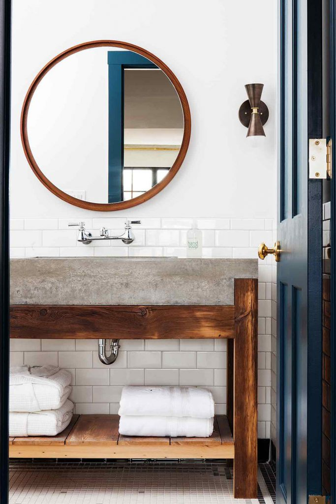 2018 Trends: Bathroom Countertops and Cabinets Trends-4